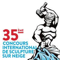 35e concours International de Sculpture sur Neige