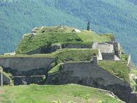 Visite du fort du Château