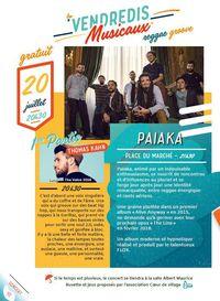 Vendredis Musicaux : Paiaka