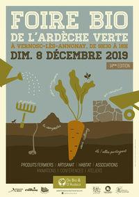 Foire bio de l'Ardèche Verte