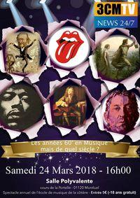 Concert - Spectacle annuel de l'école de musique de la Côtière