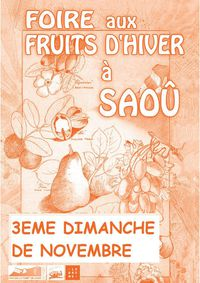 Foire aux fruits d'hiver : 22ème édition