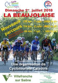 """Randonnée cyclotouristique """" La Beaujolaise """""""