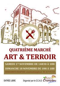 4ème marché d'art et du terroir