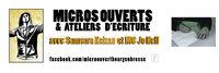 Micros ouverts et ateliers d'écriture avec Mc Jo Hell et Samsara Keizan