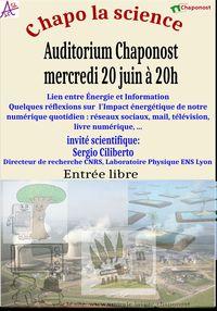 """Chapo la science """" Biodiversité et santé """""""