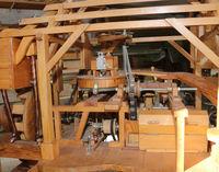 Découverte d'un moulin à grains