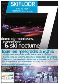 Ski Floor et Démo des Moniteurs ESI