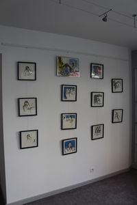Exposition de peinture - Evelyne Michel