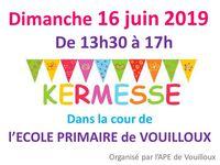 Kermesse & vide grenier des écoles de Vouilloux