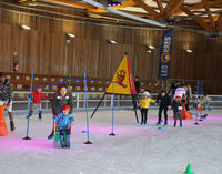 Jardin de glace à la patinoire