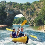 Location canoe, raft, kraft Ardeche Vallon Pont d'Arc
