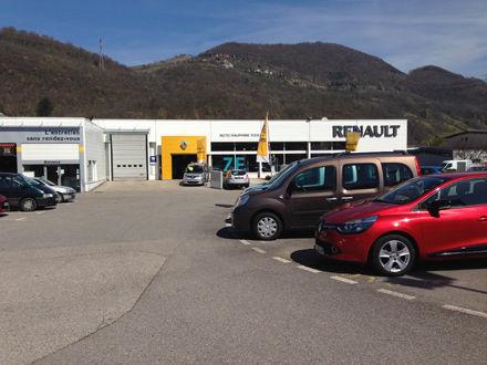 Garage et concession renault vizille renault auto for Garage renault evrecy 14