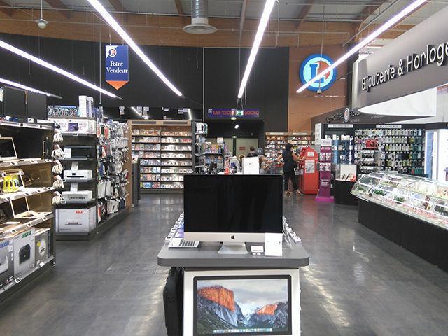 Centre commercial Drôme (26), Hostun