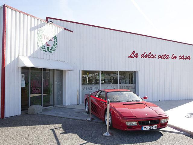 Restauration italienne et magasin italien à Comboire Grenoble Échirolles