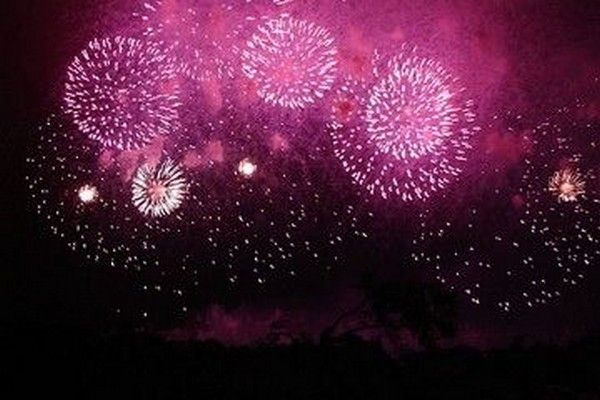 14 juillet, fête nationale, feu d'artifice en Rhône-Alpes