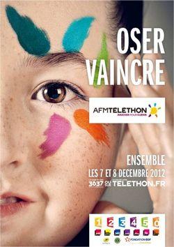 AFM Thelethon France 2012
