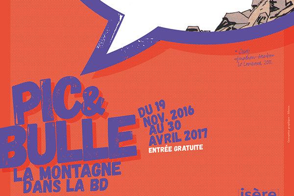 """Expo """"Pic & Bulle - la montagne dans la BD"""""""
