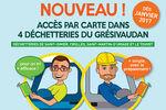 Le Grésivaudan met en place la carte d'accès en déchetterie