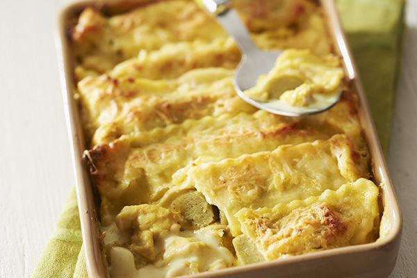 Recette : Gratin de cannelloni tomates séchées mozzarella