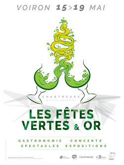Les fêtes vertes et or 2017 à Voiron
