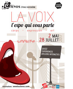 """""""La Voix"""", l'expo qui vous parle aux Clévos à Étoile-sur-Rhône"""