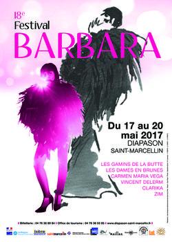Festival Barbara 2017 à St-Marcellin