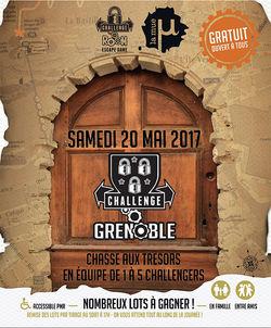 Challenge Grenoble 2017, une chasse aux trésors dans Grenoble