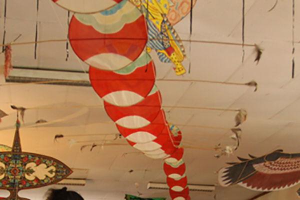 """Expo """"de soie et de papier, cerfs-volants d'Asie"""""""