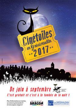 Festival Cinétoiles 2017 dans le Grésivaudan