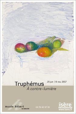 """Expo Jacques Truphémus """"À contre-lumière"""" au Musée Hébert"""