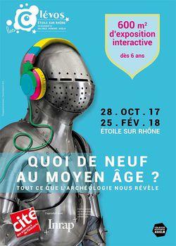 """Expo """"Quoi de neuf au Moyen Âge ?"""" au Clévos d'Étoile-sur-Rhône"""