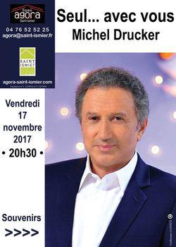 """""""Seul... avec vous"""" avec Michel Drucker à l'Agora de St-Ismier"""