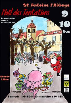 Noël des Tentations à St-Antoine-l'Abbaye