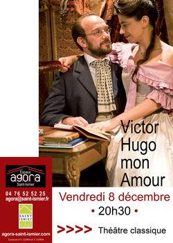 """""""Victor Hugo, mon amour"""" à l'Agora de St-Ismier"""
