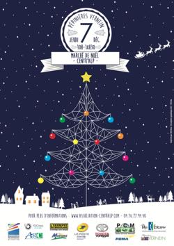 Marché de Noël de Centr'Alp à Moirans