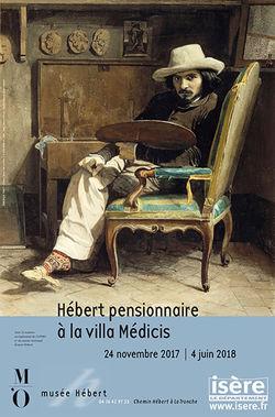 """Expo """"Hébert pensionnaire à la villa Médicis"""" au Musée Hébert"""