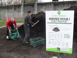 Mise à disposition de compost pour les habitants du Grésivaudan