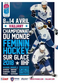 Championnat du monde de hockey sur glace Féminin D1-A à Vaujany