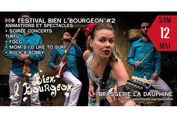 Festival Bien l'Bourgeon #2 2018 à St-Geoire-en-Valdaine
