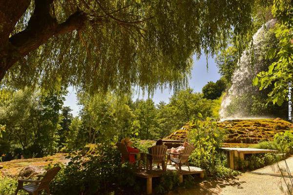 """Jardin des Fontaines Pétrifiantes labellisé """"Jardin remarquable"""""""