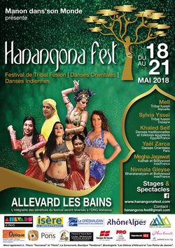 Hanangona Fest 2018, festival de danses orientales, indiennes