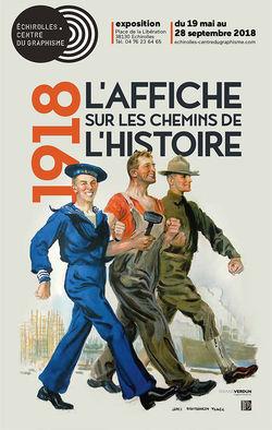 """Expo """"1918, l'Affiche sur les chemins de l'Histoire"""" à Échirolles"""
