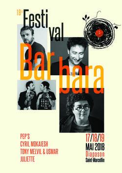 Festival Barbara 2018 à St-Marcellin