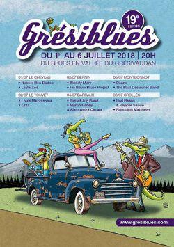Grésiblues Festival 2018 dans le Grésivaudan
