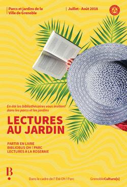 Lectures au jardin 2018 dans les parcs de la ville de Grenoble
