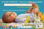 Atelier parents : faites vous même vos produits pour bébé