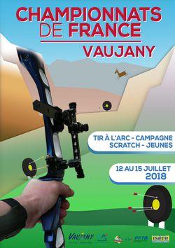 Championnats de France de Tir à l'Arc 2018 à Vaujany