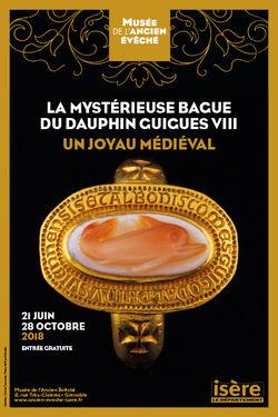"""Expo """"La mystérieuse bague du dauphin Guigues VIII"""" à Grenoble"""