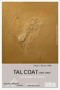"""Expo Tal Coat """"Les années d'envol"""" au Musée Hébert de La Tronche"""
